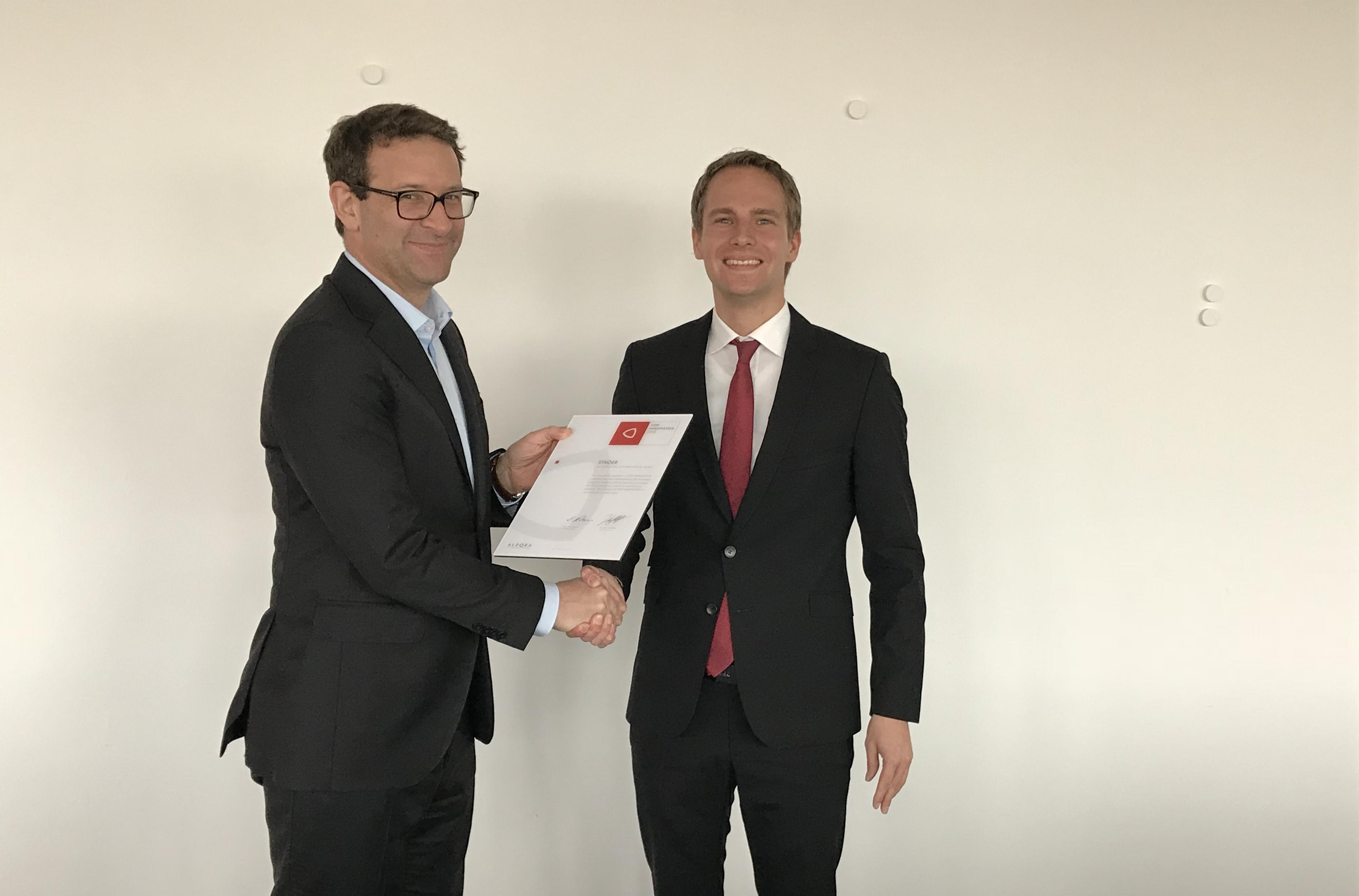 Ströer erhält ALPORA Innovation Award 2018