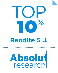 AR Ranking Rendite 10% über 5 Jahre