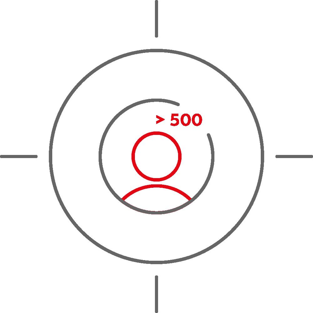 > 500 Employees