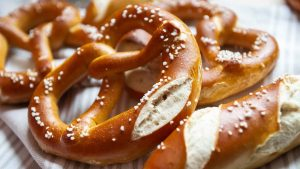 Pretzel bakery snacks